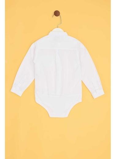 Riccione Erkek Bebek Beyaz Gömlek Beyaz